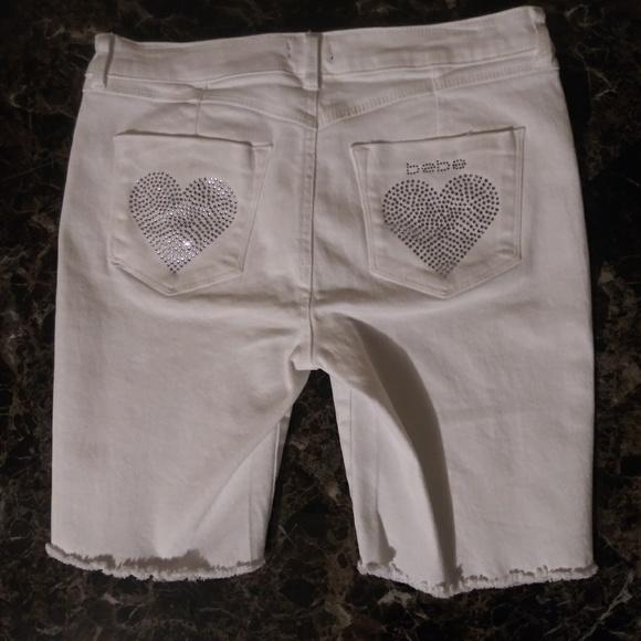 bebe Pants - White Bebe Shorts